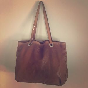 Vive La Difference - Large Italian Leather Tote